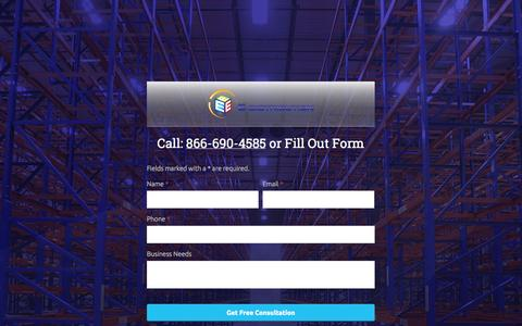 Screenshot of Contact Page e-dist.com - Material Handling System | Racking System | Warehouse Management Systems - E-Distribution - captured Oct. 1, 2014