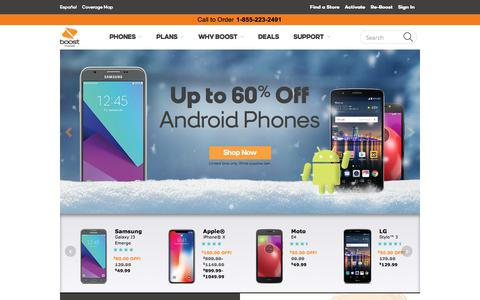 Boost Mobile | Best Prepaid & No Contract Phones