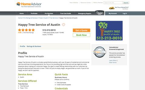 Happy Tree Service of Austin | Austin, TX 78701 - HomeAdvisor