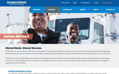 Carrier Network | GlobalTranz