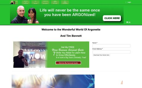 Screenshot of About Page argonette.com - About UsArgonette.com - captured Feb. 6, 2016