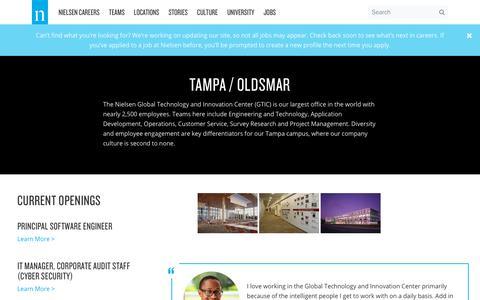 FL – Tampa – Oldsmar – Nielsen Careers