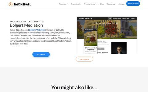 Bolgert Mediation | Smokeball Legal Practice Management Software
