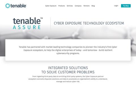 Tenable Integrations and Partners | Tenable™