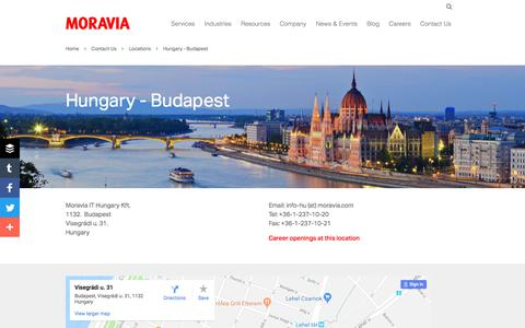 Hungary - Budapest - Moravia