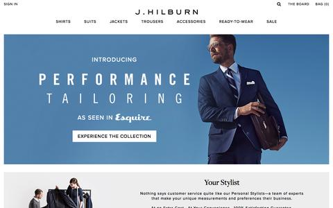 Screenshot of Home Page jhilburn.com - J.Hilburn - captured May 4, 2016