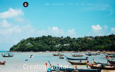 Screenshot of Home Page orangetribes.com - Orange Tribes - captured Sept. 20, 2018