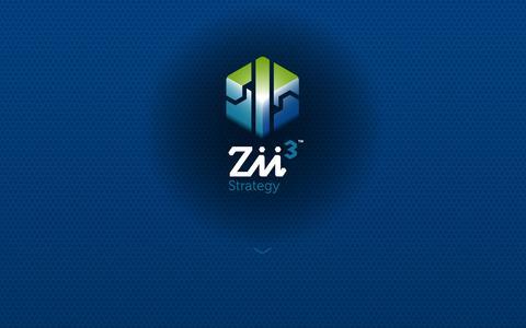 Screenshot of Home Page zii3.com - Zii3 Strategy | Business Consultants | Laguna Niguel, California - captured Oct. 7, 2014