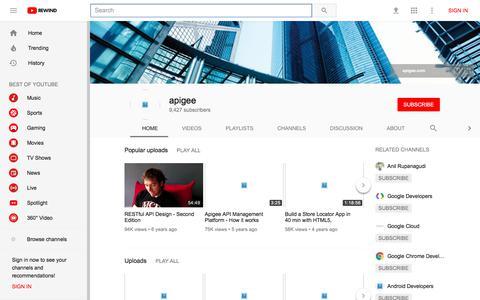 apigee - YouTube - YouTube