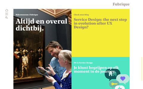 Screenshot of Home Page fabrique.nl - Fabrique - captured June 21, 2018