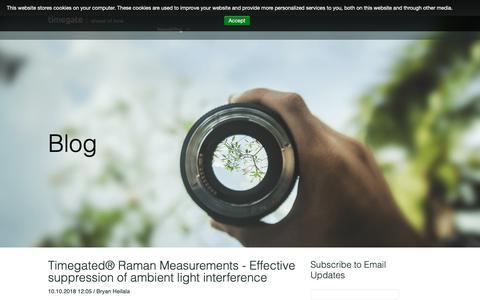 Screenshot of Blog timegate.com - Timegate Blog - captured Oct. 19, 2018