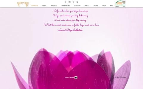 Screenshot of Home Page solamigos.com - solamigos - captured Oct. 20, 2018