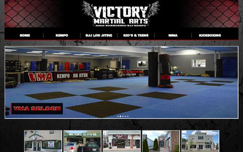Screenshot of Contact Page Locations Page vmakempobjj.com - Contact Us| Victory Martial Arts - captured Oct. 26, 2014