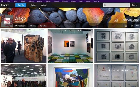 Screenshot of Flickr Page flickr.com - Flickr: Artigo Tours' Photostream - captured Oct. 23, 2014