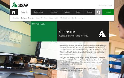 Screenshot of Team Page bsw.co.uk - BSW Timber • people - captured Nov. 14, 2016