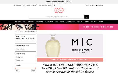 Shop Maria Christofillis Parfums | MECCA