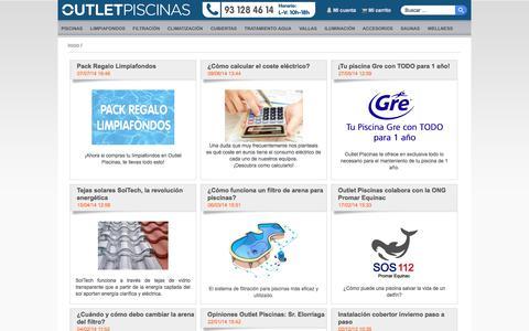 Screenshot of Blog outlet-piscinas.com - Outlet Piscinas: - captured Sept. 23, 2014