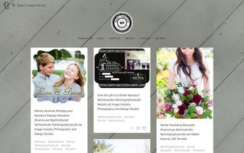 Screenshot of Blog tumblr.com - Photography & Design Studio - captured Feb. 10, 2016