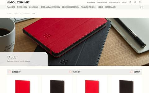 iPad cases and tablet cases - Moleskine