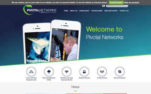 Screenshot of Home Page pivotalnetworks.co.uk - Pivotal Networks - captured Oct. 2, 2014