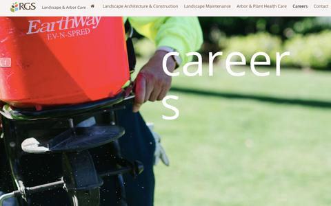 Screenshot of Jobs Page rgsls.com - Careers - RGS Services Inc. - captured Oct. 18, 2018