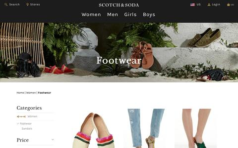 Shoes | Maison Scotch Shoes | Official Maison Scotch Webstore