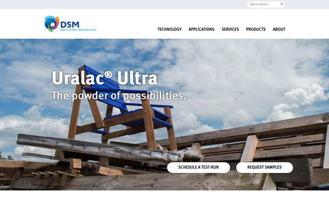 Screenshot of Case Studies Page dsm.com - Case study: garden furniture that lasts for up to 20 years! | A top coating with the best powder finishing - captured Jan. 1, 2019