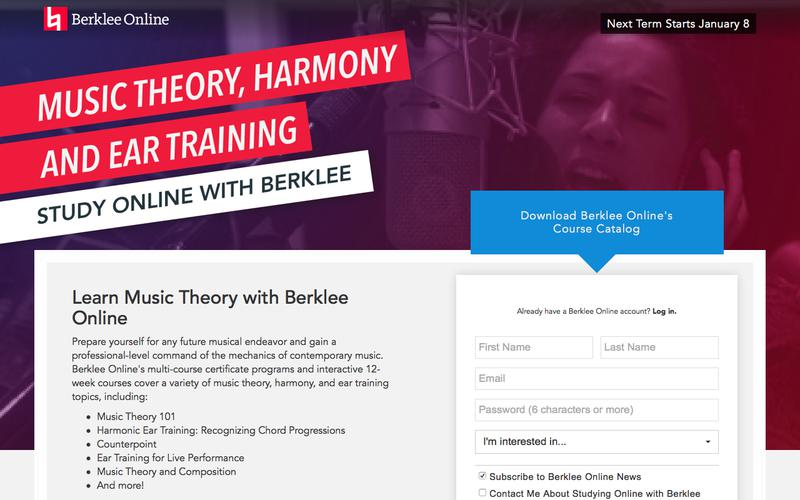 Learn Music Theory with Berklee Online