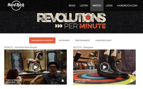 WATCH – Hard Rock presents Revolutions Per Minute