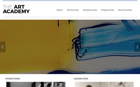 Home Page - The Art Academy - London