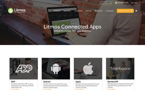 Connected Applications & Integrations | Litmos