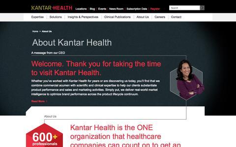 About Us | Kantar Health