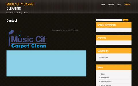Contact – Music City Carpet Cleaning