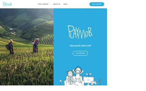 Screenshot of Home Page playmob.com - Playmob - captured May 9, 2017