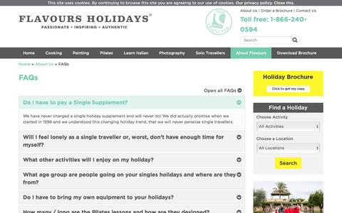 Frequently Asked Questions | FAQs | Flavours Holidays