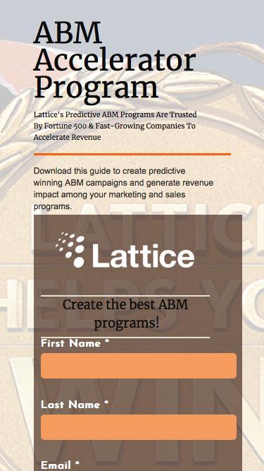ABM Predictive Success