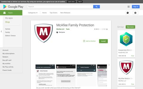 McAfee Family Protection - Apps on Google Play