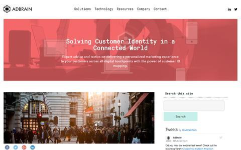 Adbrain Blog - Customer Journey and Retargeting Blog - Adbrain
