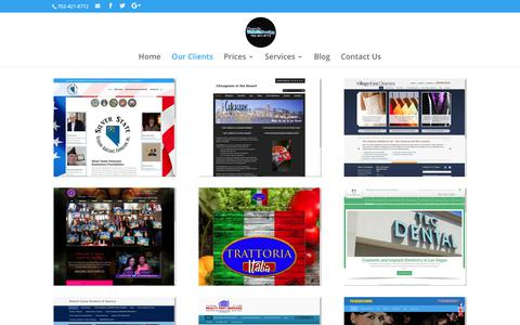 Website Design Clients | Nevada Website Design | Henderson | Las Vegas