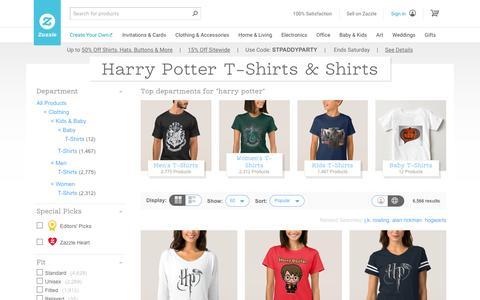Harry Potter T-Shirts & Shirt Designs | Zazzle