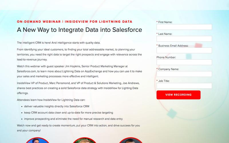 A New Way to Integrate Data into Salesforce