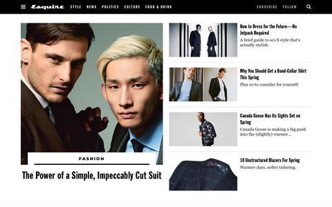 Mens Fashion 2017 - Latest Mens Fashion Trends