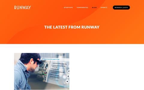 Screenshot of Blog runway.is - Blog — RUNWAY - captured Feb. 17, 2019