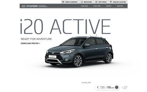 New Hyundai i20 Active from £15,225   Hyundai UK