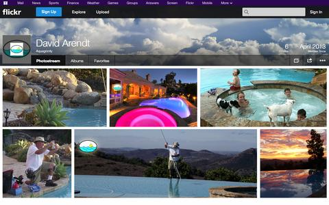 Screenshot of Flickr Page flickr.com - Flickr: Aquagrizzly's Photostream - captured Oct. 23, 2014
