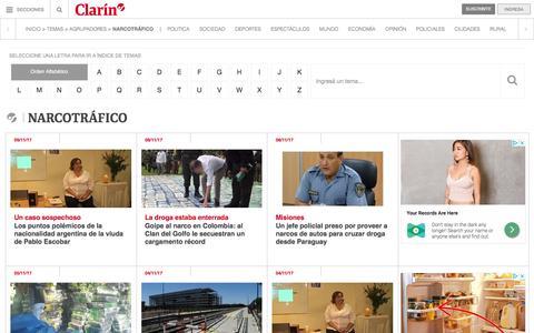 Narcotrafico – Clarín.com