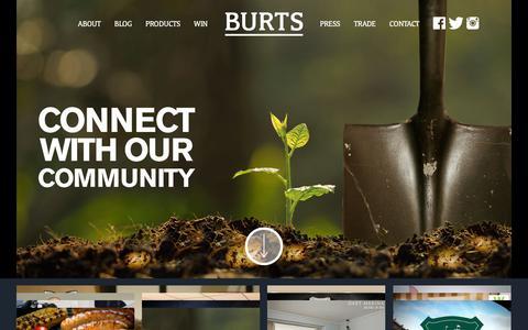 Screenshot of Blog burtschips.com - Blog Archives - Burts Chips - captured Feb. 8, 2016