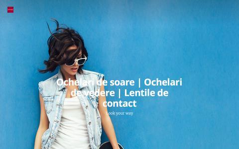 Screenshot of Blog optiplaza.ro - Ochelari de soare | Ochelari de vedere | Lentile de contact - captured Nov. 4, 2017