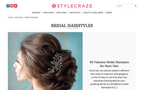 Bridal Hairstyles and Haircuts