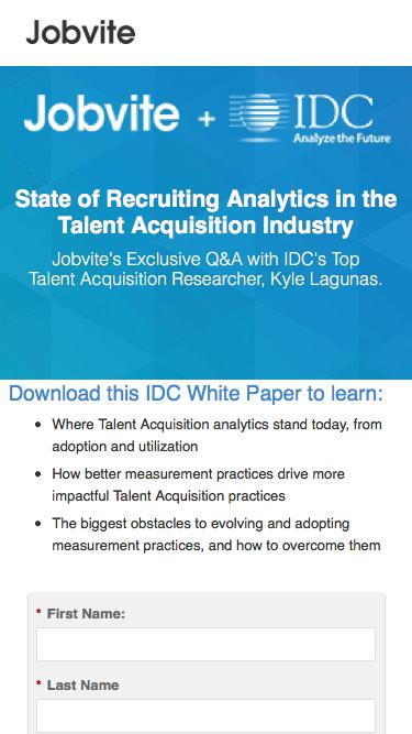 Analytics: Powering the Future of Talent Acquisition